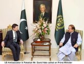 US Ambassador David Hale calls on Prime Minister Nawaz Sharif