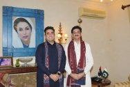 CM Sindh Syed Murad Ali Shah calls on Chairman PPP Bilawal Bhutto
