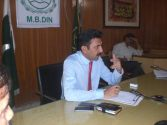Health sector being reformed : DCO Mandi Bahauddin Muzaffar Sial