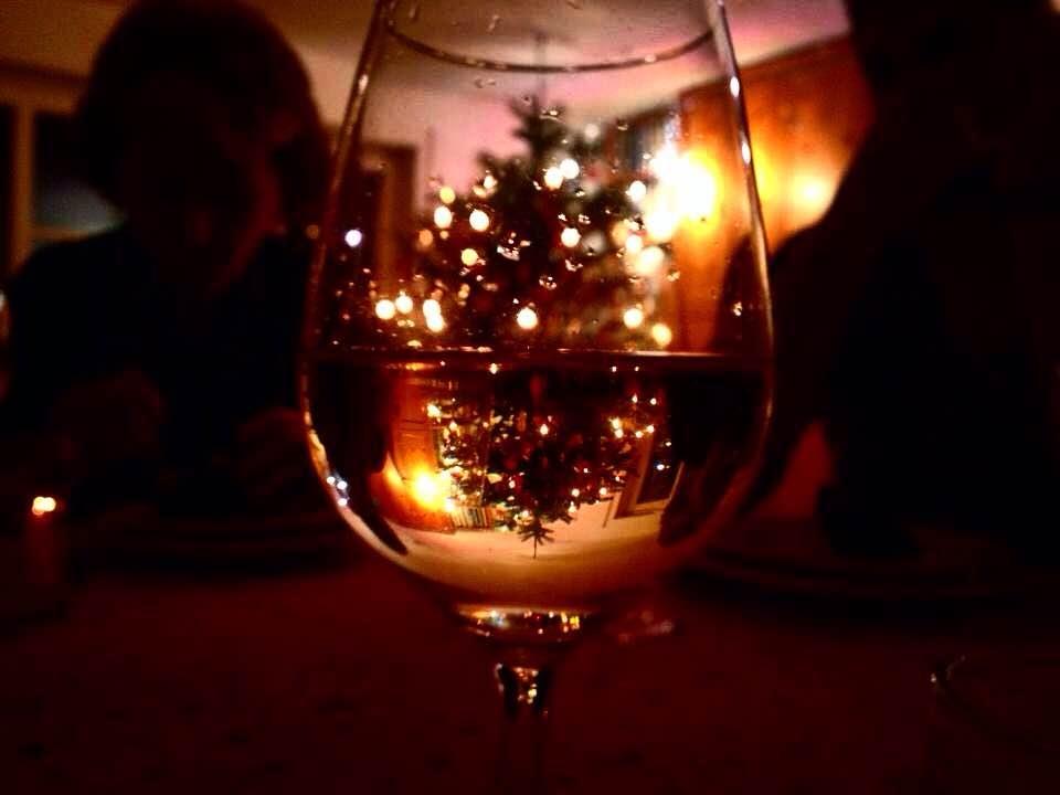 Weihnachten Wein