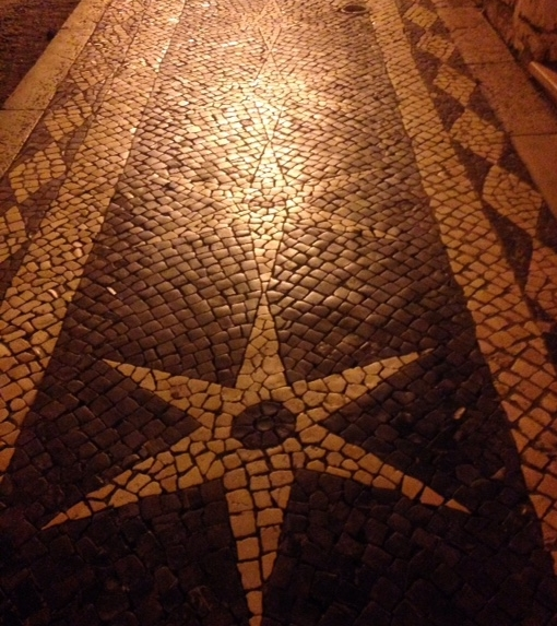 Lissabons Gehwege