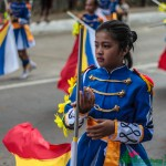 Participants During the Panagbenga 2014 Grand Street Dancing Parade