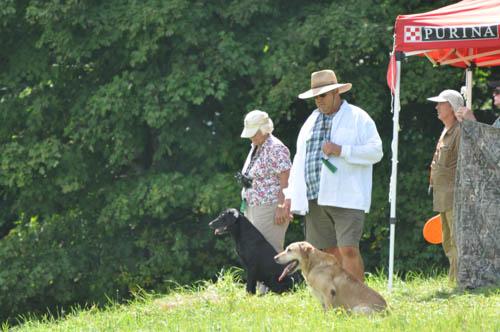 Kate on line, Ed at Honor. Open Series I, photo courtesy Derrick Kozlowski