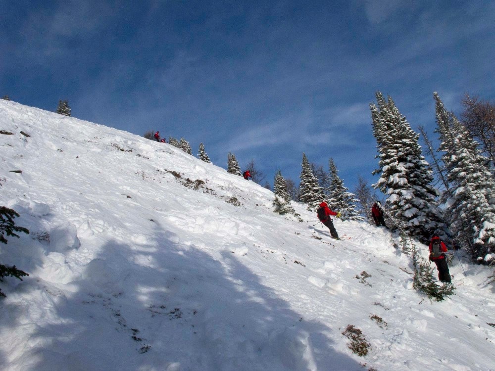 Avalanche Incident in Ptarmigan Area (5/6)