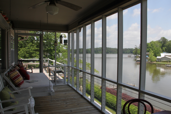 Screened porch at 138 Eiland Drive - one of my current listings.