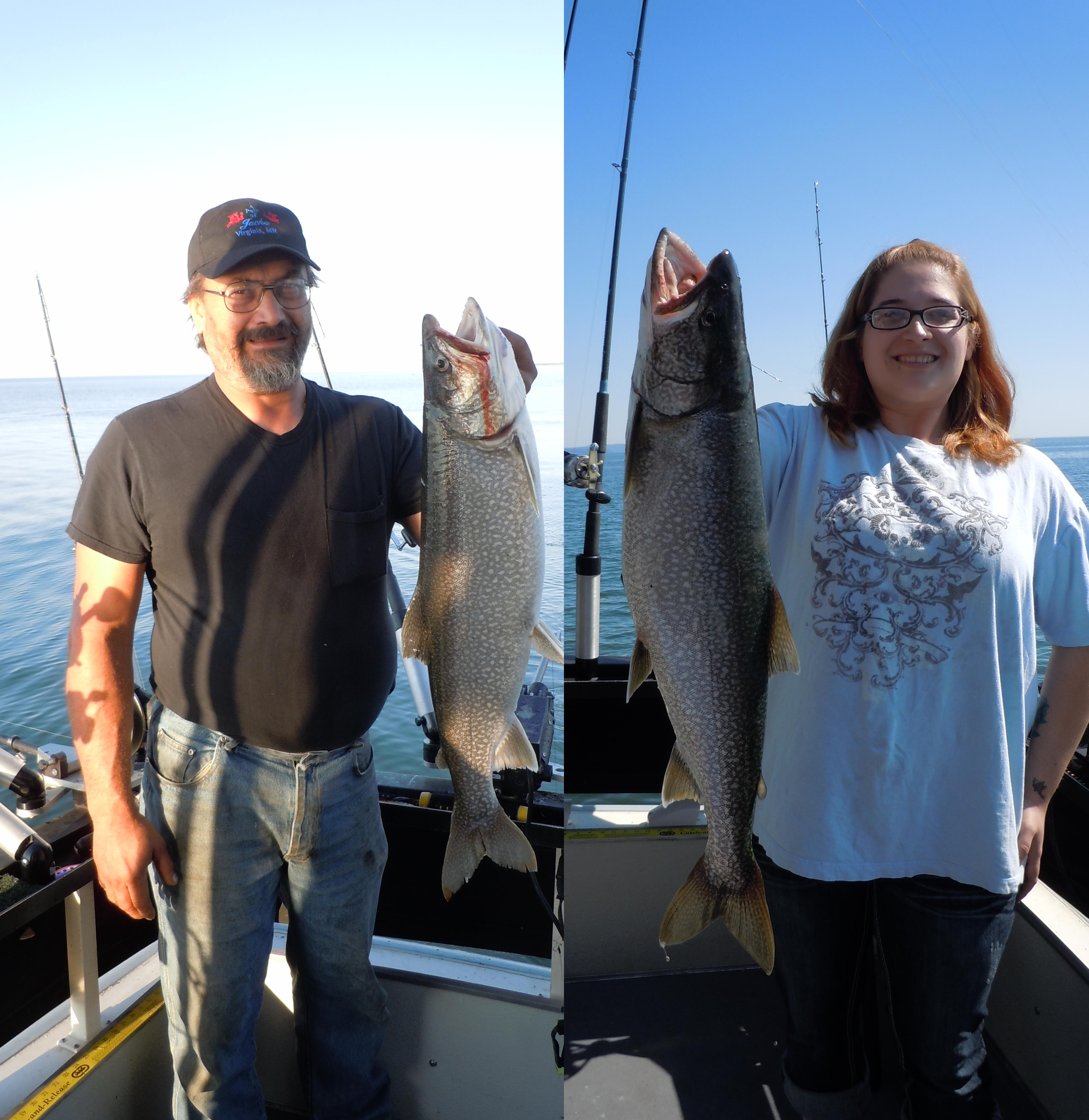 Flooding in duluth and muddy waters on lake superior promp for Duluth mn fishing report