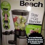 Hamilton Beach Stay Or Go Blender Review