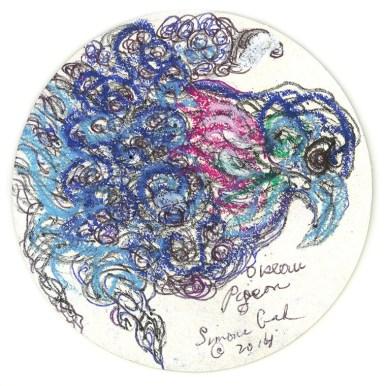 Simone Gad - Oiseau Pigeon