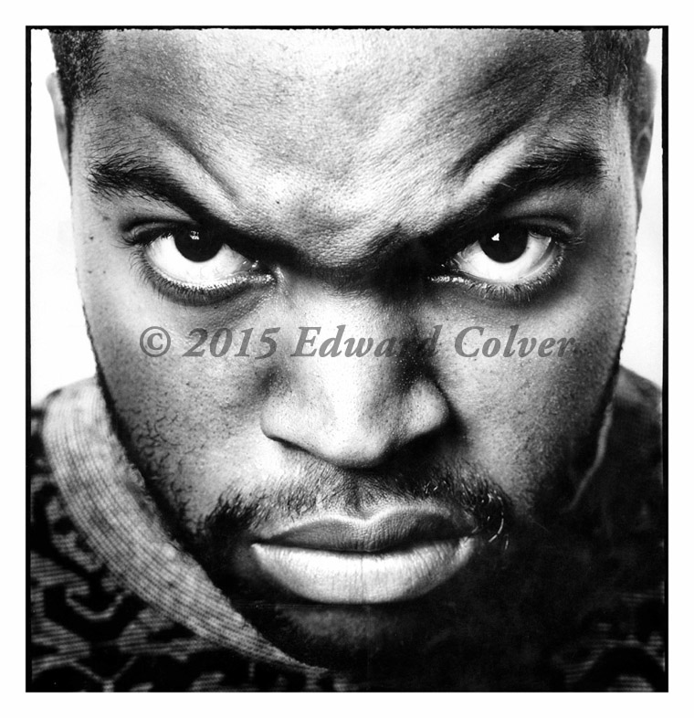 "Edward Colver - Ice Cube photograph, 20x20"" (24x24"" framed), $1600"