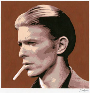 Jim Blanchard - David Bowie No.1Acrylic on Panel, 12x12 in. $750