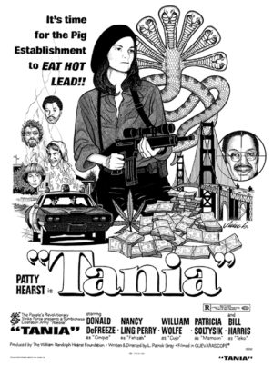 Jim Blanchard - Tania India Ink & White Gouache on Bristol, 12x15.5 in. $1,500