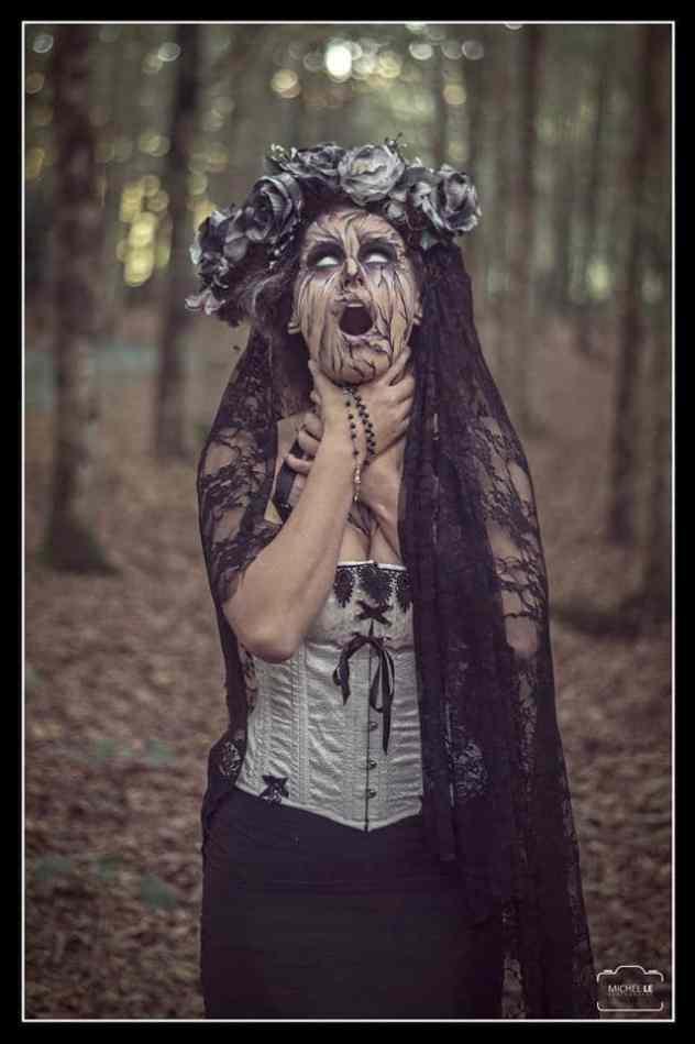 Halloween maquillage et costume