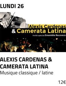 Visu site - alexis cardenas camerata latina