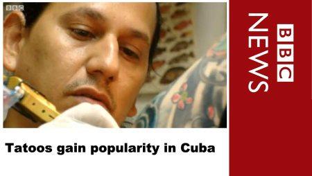 Tattoos gain popularity in Cuba