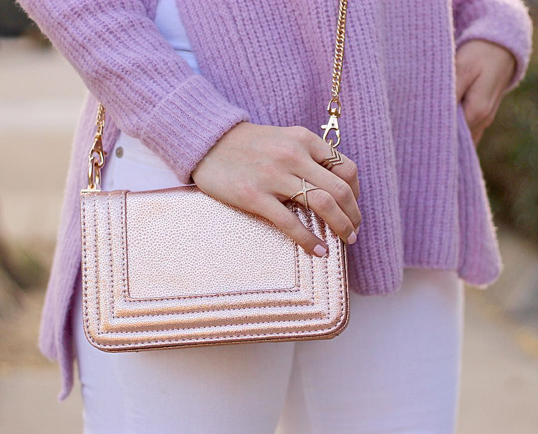 Rose gold bag FTW thanks to marshalls Continue reading rarr