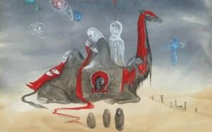 Leonora Carrington: Cuando las esculturas esperan...