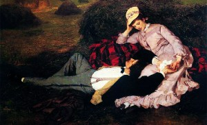 Un duelo de amor (El Gran Danés y la escritora)