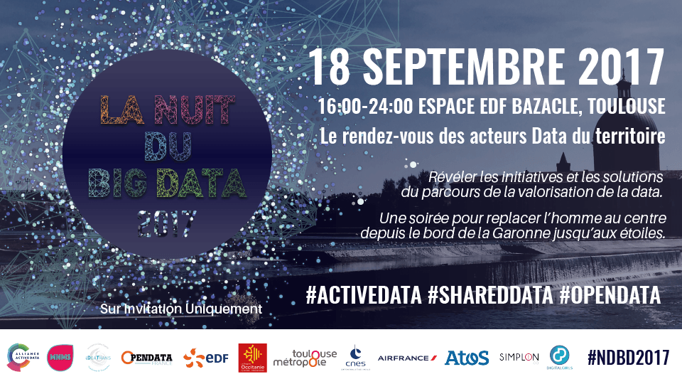 La Nuit du Big Data – 18 septembre 2017 à Toulouse