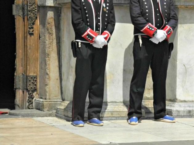 Mosso d'Esquadra con el uniforme de Gala.
