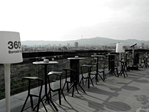 Hotel Barceló Raval. Terraza 360º.