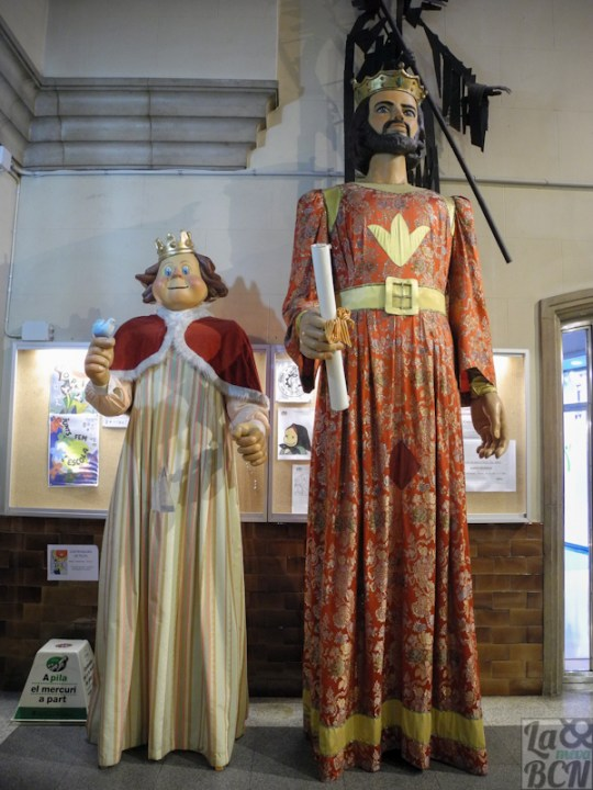 El rei Tano i la Reina Pineta.