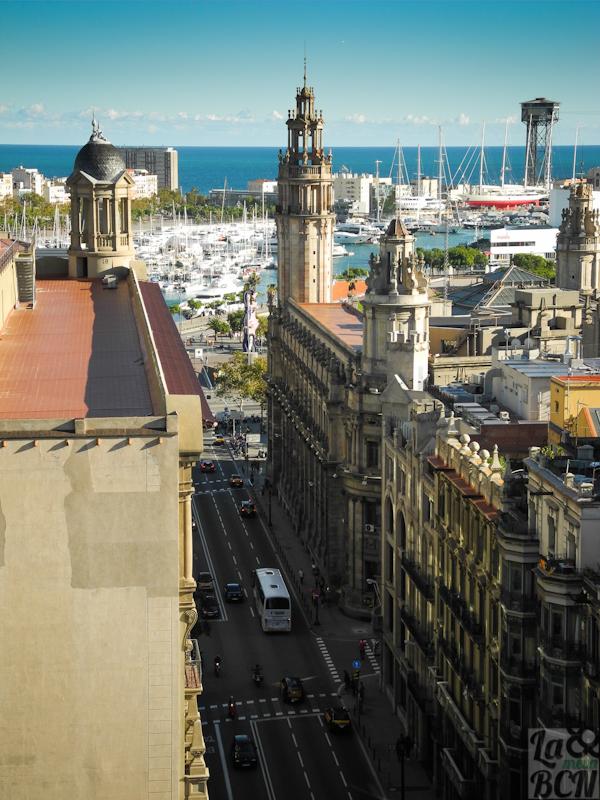 Via Laietana i Edifici de Correus