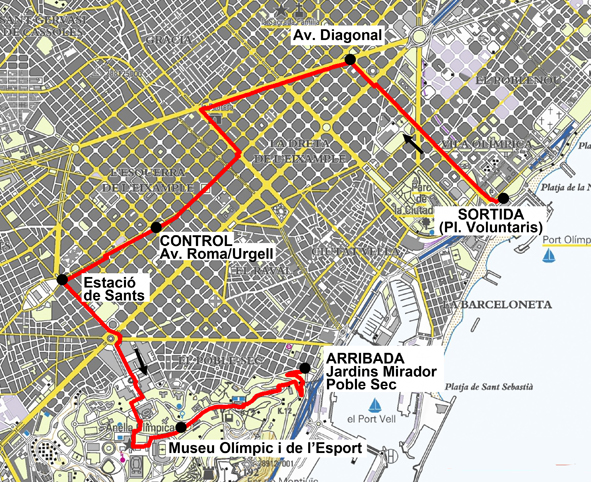 Imprimint Mapa - 50K Barcelones