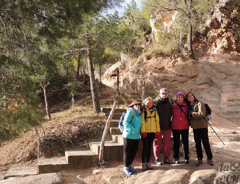 Inicio de la ruta en el área de recreo de la Ermita de la Salut