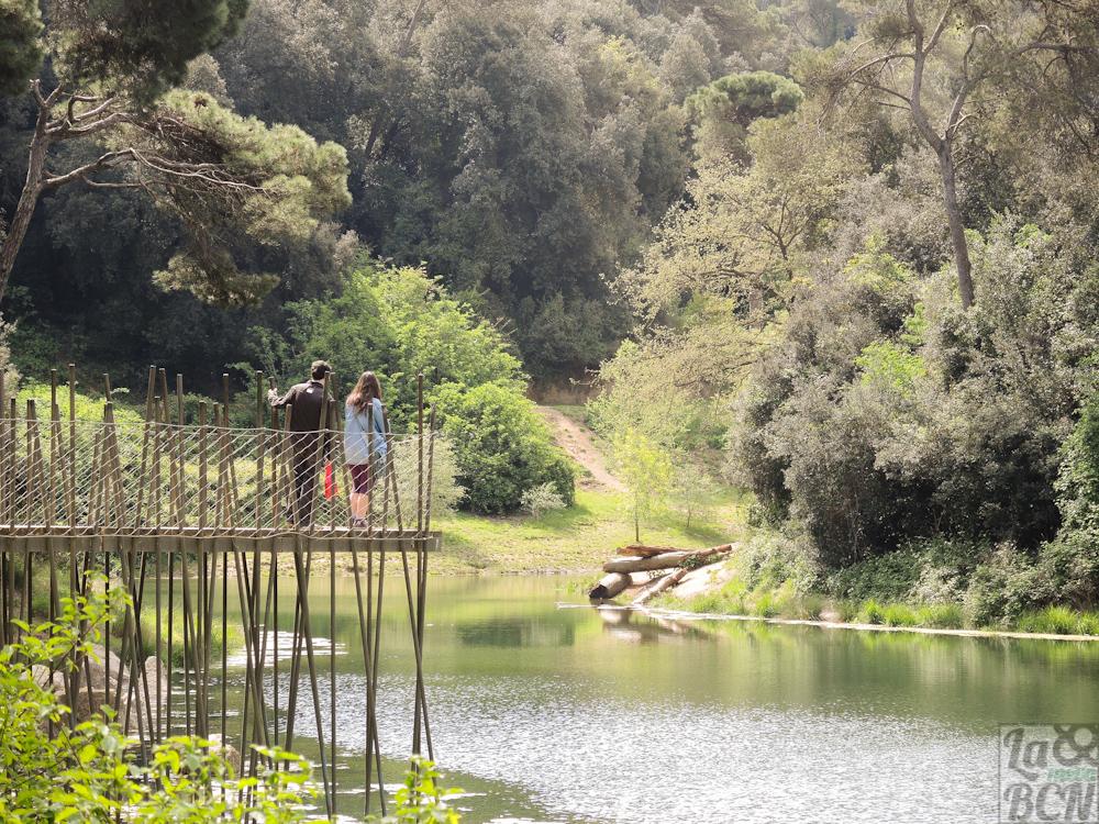 Passejada pel Pantà de Vallvidrera i la Mina Grott