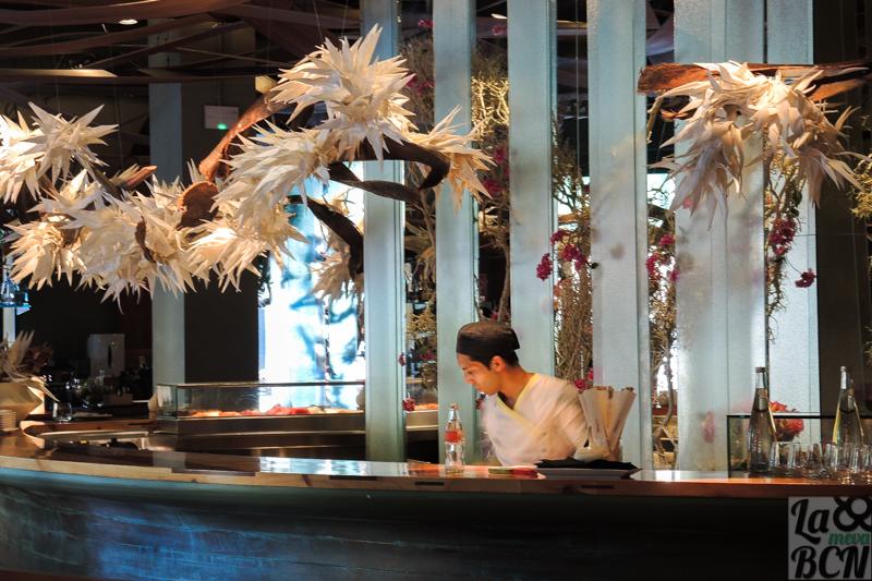 Interior restaurante Ikibana Paral.lel