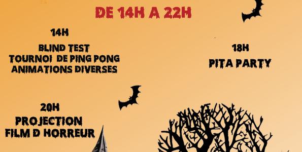 Halloween A La Mézon Samedi 31 Octobre
