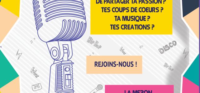 La Mézon lance sa web radio !