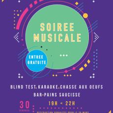 Soirée musicale 30 mars