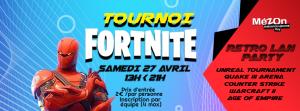 fortnite tournoi - Retro LAN