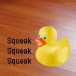 squeaky laminate floor fix