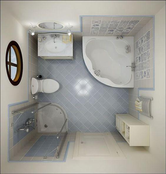 Thiết bị vệ sinh phòng tắm nhỏ