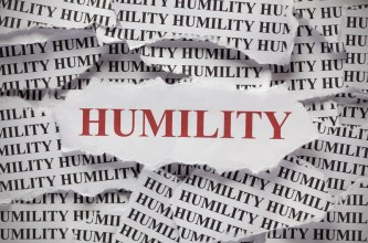 Humility is not something we can brag about