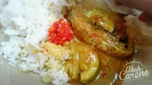 Nasi Warisan Kelantan sedap giler! Dah tercapai hajat nak rasa.
