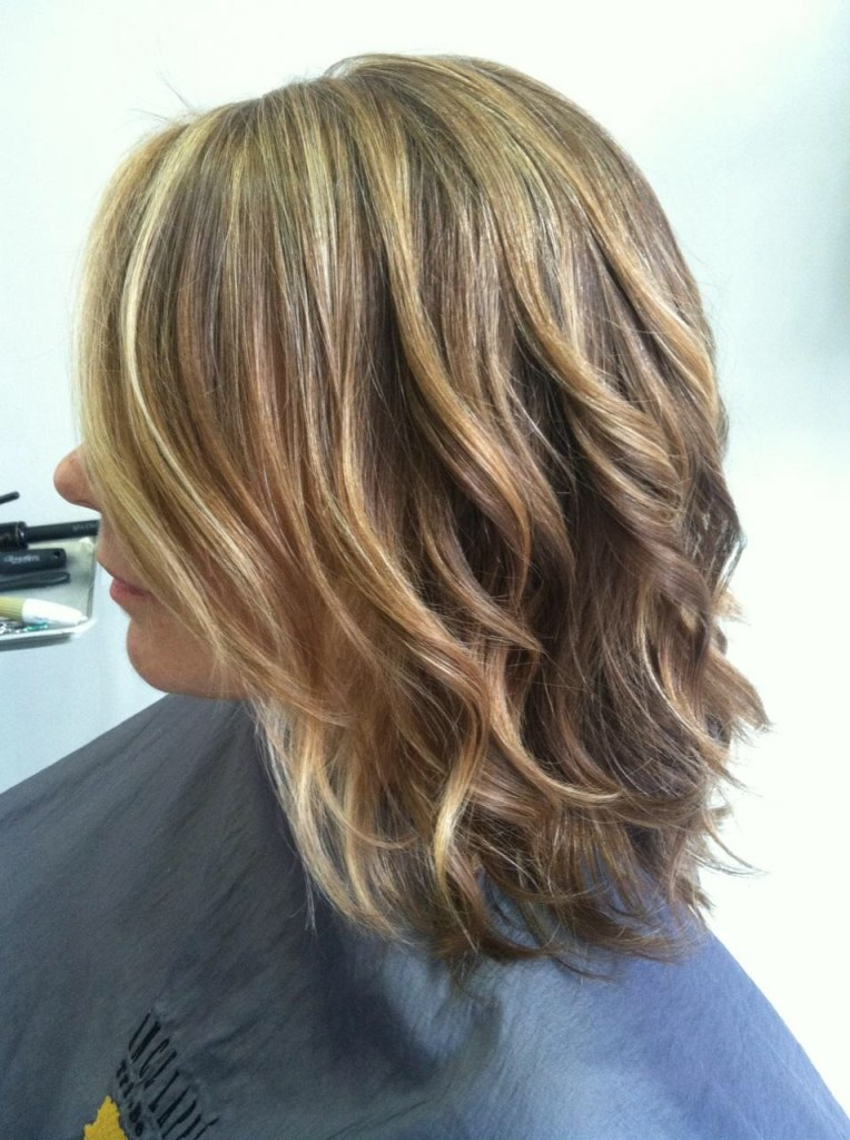 pictures of blonde highlights