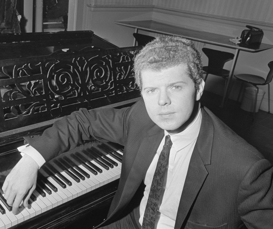 American pianist Van Cliburn, a few years after winning the first Tchaikovsky competition.