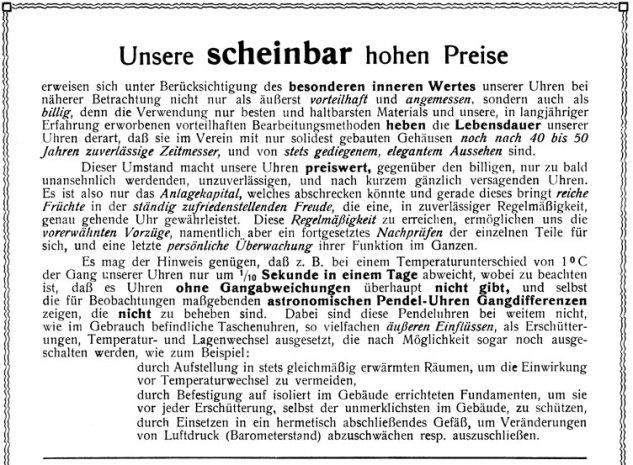 A. Lange & Söhne – die Preise