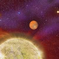 Satu Planet dan Empat Bintang