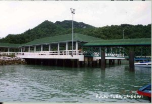 Jetty Pulau Tuba langkawi