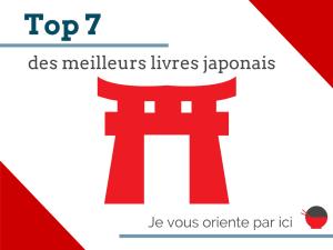 top 7 livres japonais