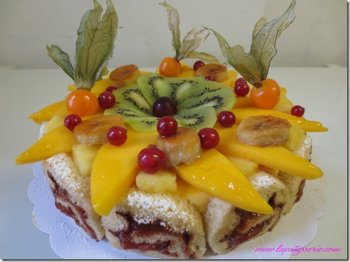 gateau tropical