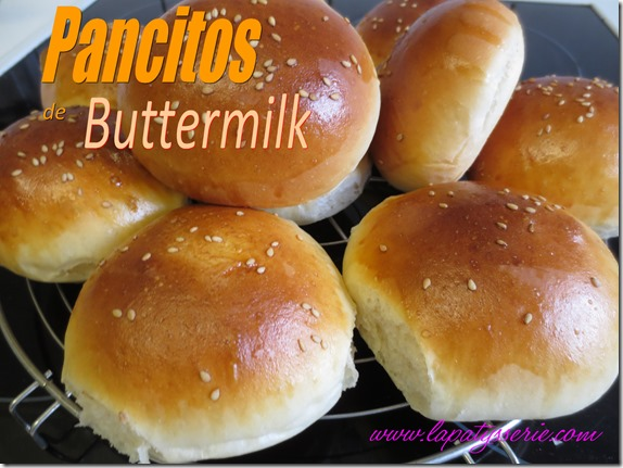 pancitos de buttermilk