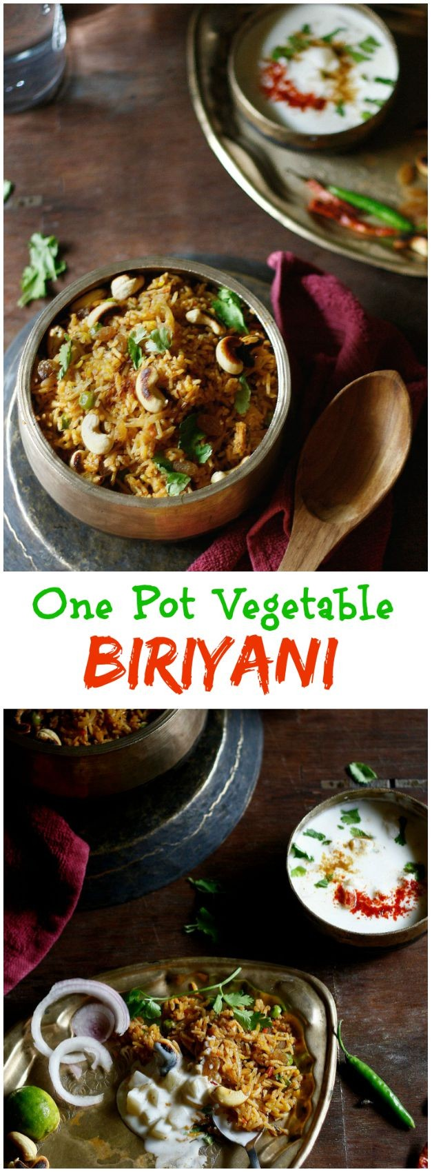 Vegetable biriyani is everything you need to turn a Meatless dinner into something special.