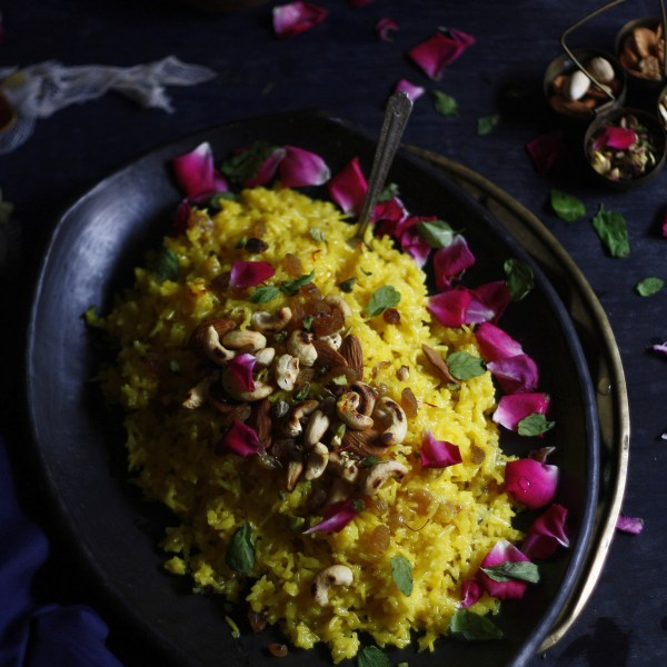 2 ways to make this delicious saffron flavored sweet rice dish!
