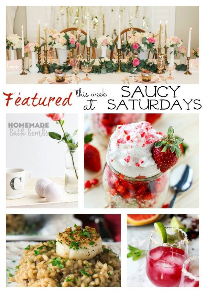 Saucy saturday is a link party or blog hop for all food, diy, crafts and decor bloggers to come and share their wonderful creations with us,every Saturday, 8 am EST.