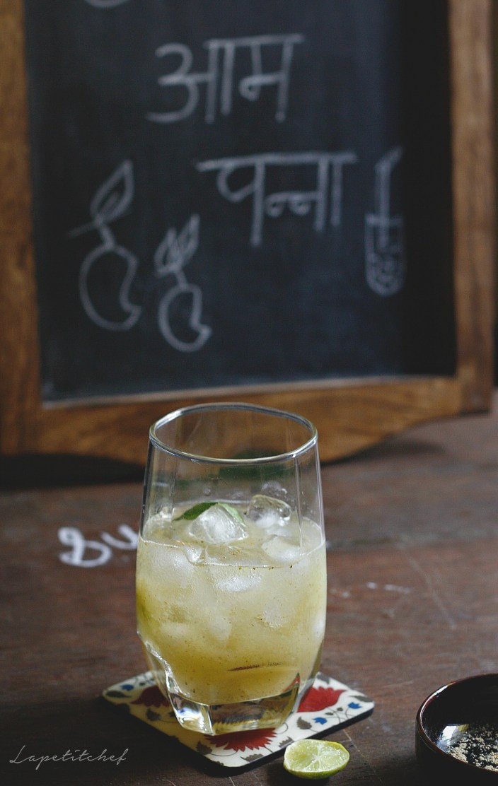 Aam panna or green mango sherbat is a summer must-have drink in India. A super healthy sherbat with serious benefits like protection against sun/heat stroke, this tangy sweet summer cooler will soothe your parched throats like nothing else can